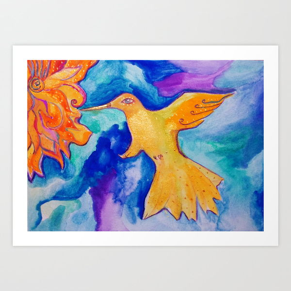 Sunbird by Lil Owl Studio