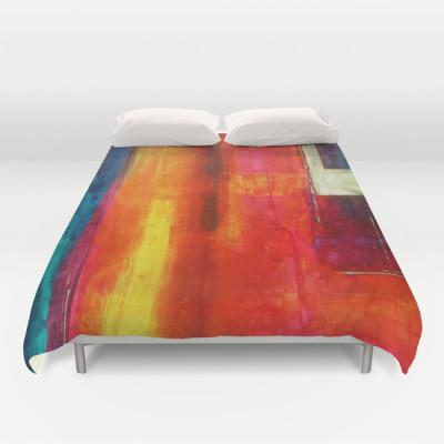 Philip Bowman Color Fields II Duvet Cover