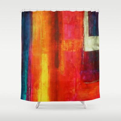 Philip Bowman Color Fields II Shoer Curtain