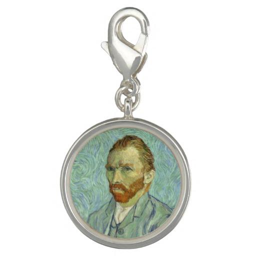 Vincent Van Gogh Self Portrait Charm Bracelet