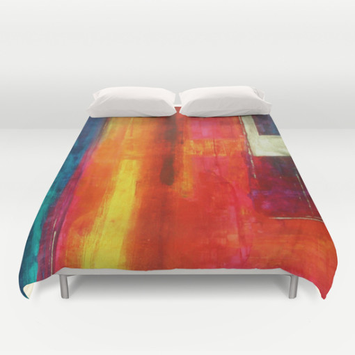 Philip Bowman Color Fields II Duvet Cover