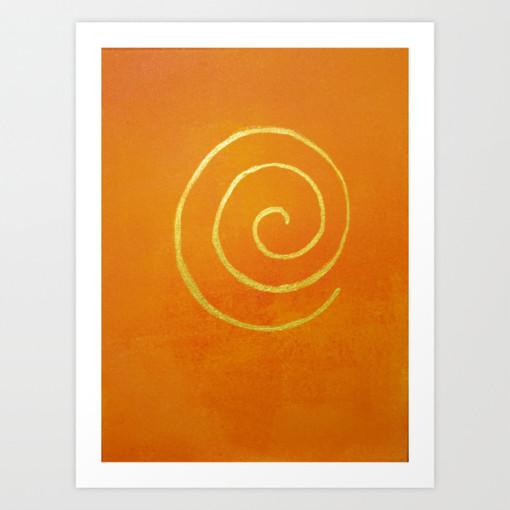 Philip Bowman Infinity Bright Orange