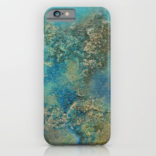 Philip Bowman Ocean Blue Phone Case